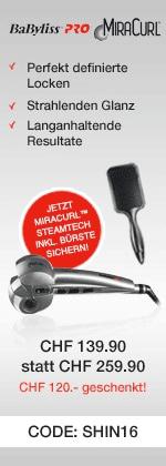 MiraCurl Steam Tech für 139.90 CHF mit Gutschein